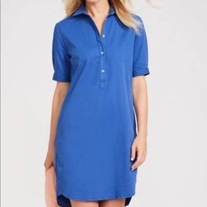 J McLaughlin shirt collar tunic dress size Large